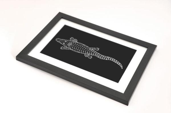 Crocodile Totem Framed Preview 02