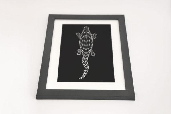 Crocodile Totem Framed Preview 03