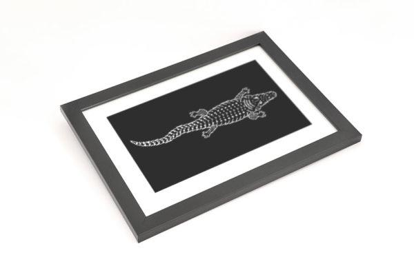 Crocodile Totem Framed Preview 05