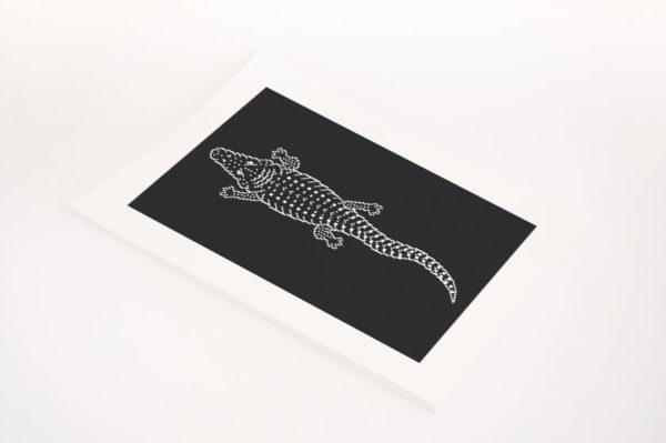 Crocodile Totem Framed Preview 07