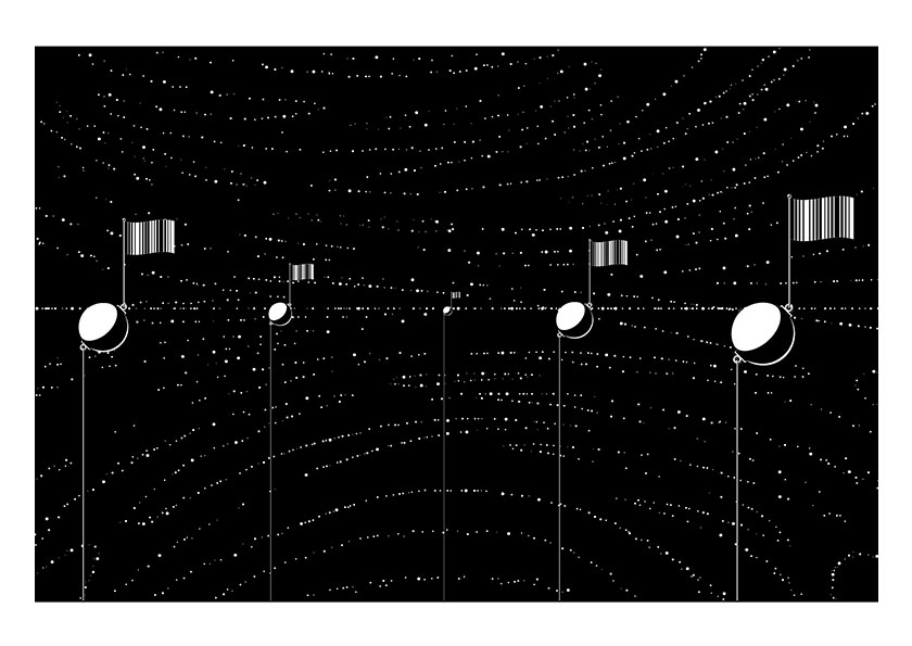 Alex Graphica Artwork - Space Buoys
